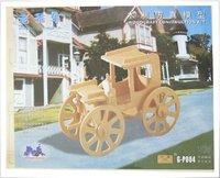 Vintage car DIY car model-woodcraft construction kit-stereo puzzles-3D fancy toy-educational toys