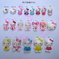 Hello kitty nail sticker + new design + free shipping