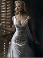 strapless bridal gown  Free Shipping 2011 new Best selling high fashion dress