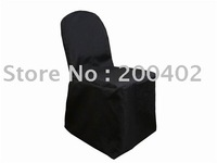 black Polyester Chair Cover/banquet chair cover/wedding chair cover