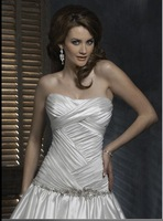 bridal dress wedding gown Free Shipping 2011 new Best selling high fashion dress