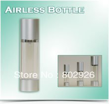 Wholesale - empty cosmetic airless pump serum lotion bottles 50ml transparent/s plastic makeup containers