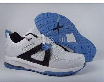 New Arrival Model Men's Running Comfortable Sport Trainers Shoes - White / Black / Blue