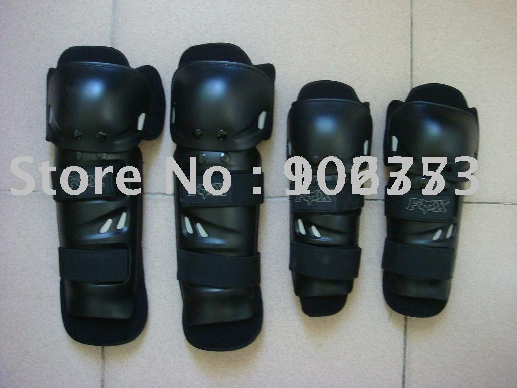 Wholesale free shipping motorcycle thermal elbow and knee protectors Black color Free Size