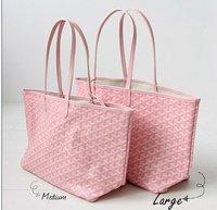 Free shipping Chevron shoulder Bag  fashion handbag lady bag Guaranteed100%(pink)