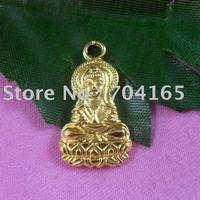 Free shipping wholesale shiny gold tone  Buddha charms  CP60004  30pcs/lot