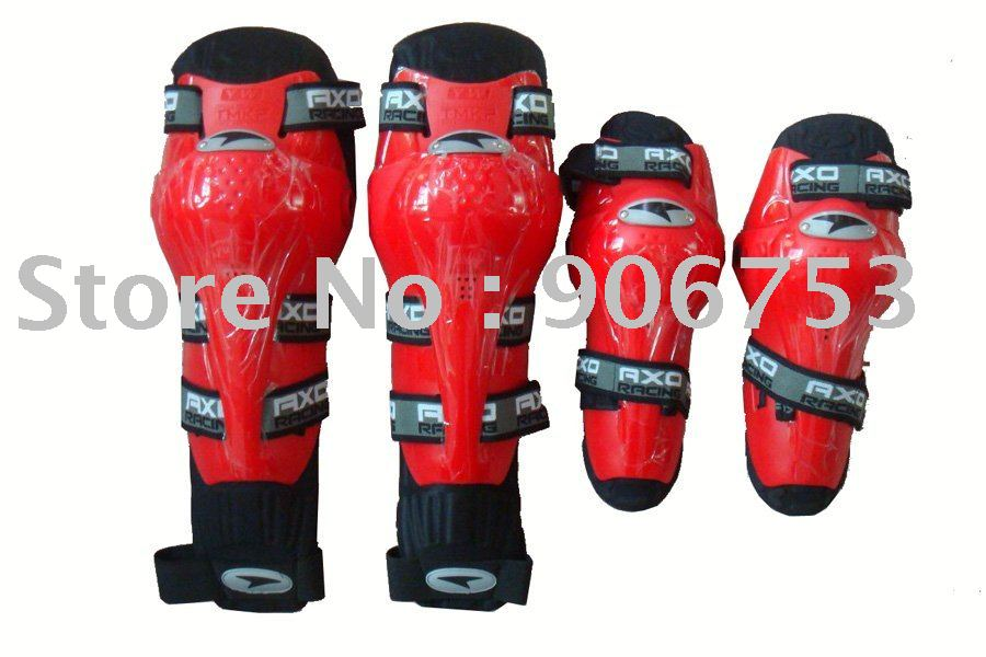 Wholesale free shipping motorcycle thermal AXO elbow and knee protectors Blue color Free Size