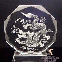 Crystal screen dragon/Originality alone rhyme draw screen crystal gift
