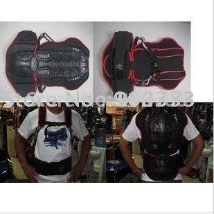 free shipping Motorcycle Racing back protector wave protector Black color Free size