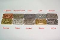 Free shipping 1Gram Bullion Bars .999 Pure COPPER German silver LEAD ZINC TITANIUM BRONZE SILVER NICKEL BRASS IRON