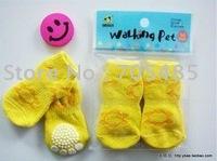 30pcs/lot NEW Fashion Design Pet Socks,Dog Socks,Wholesale and Retail