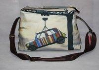 men travel trip shoulder travel bag hand bag messenger wholesaler mini cooper