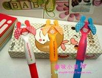 new arrive  wholesale 100pcs/lot  Cartoon  girls picture  pen  Colorful gel pen high Quality  mix color