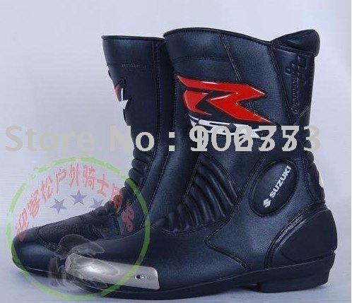 SUZUKI GSXR Suzuki motorcycle racing boots, motorcycle boots, racing shoes, boot