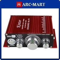 Kinter MA-170 Amplifier Red 2 Channel MINI Digital Power Amplifier MP3 Car DVD #AM091
