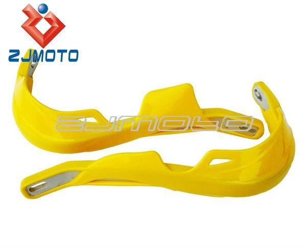 "MOTORCYCLE MOTOCROSS DIRTBIKE MX ATV YELLOW HANDGUARDS HAND GUARDS For SUZUKI DR 125 200 350 DRZ 400 DRZ400 7/8"" Handlebar(China (Mainland))"