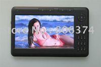 Free shipping&Fashion Digital Pocket Edition 4G 7 Inch black color Ebook Reader