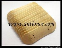 finger skateboard deck,canada maple deck, wooden finger skateboard deck, free shipping by DHL(China (Mainland))