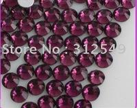 SS4(1.5mm)--High Shine 1440pcs/bag Amethyst/Nail rhinestone flat back/ nail art//Austia/ decal diamond