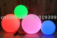 LED Ball ! Waterproof and colorful rechargeable garden lamp table light  25CM diameter