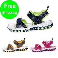 Free shipping baby beach shoes New Arrival red green yellow