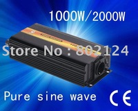 Factory sell 1000w dc12v/24v pure sine wave power  inverter