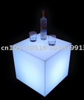 Пластиковый стул Lighting bar table, remote control and rechargeable LED table for KTV, nightclub, home decor