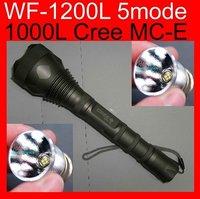 Ultrafire MCU Cree MC-E 1000 Lumens 18650 5M camping flashlight