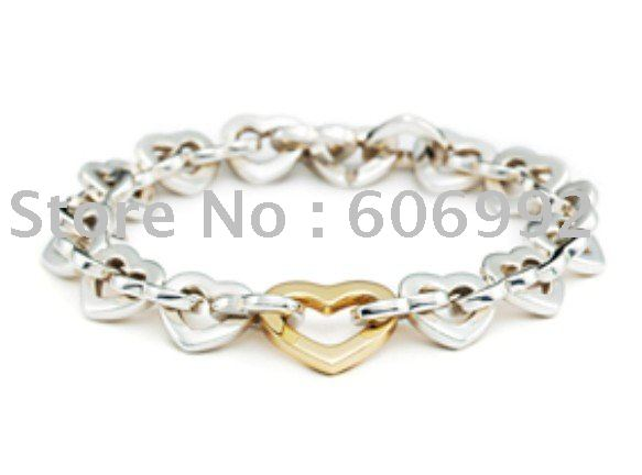 925 Sterling Silver Jewelry necklace bracelet come with gift bag and box 10piec(China (Mainland))