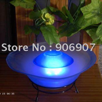venta al por mayor humidificador ultrasónico LED , mesa de fuente de la niebla , máquina de niebla , lámpara de niebla , ambientador de aire