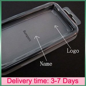TPU Bumper cases for iphone 4 4G, with metal button,with retail packaged(China (Mainland))