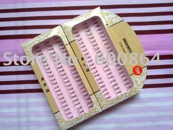 high quality black Individual Soft False Eyelashes Fake eyelashes 10mm mix order freeshipping