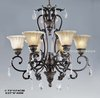 6-lights Wrought Iron Chandelier,YSL-IC0017