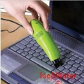 Hot Sale USB Mini Keyboard Vacuum Cleaner Keyboard Brush free hipping