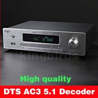HIGH END DTS AC3 5.1 DIGIT AUDIO DECODER DAC USB Coaxial Optical Analog Pre AMP Shipping by DHL EMS UPS 100% new