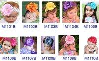 Wholesale Girl Lace Hairbow Hairband Hair Band Band Headband -Satin Crochet Headband Baby Hair Bow