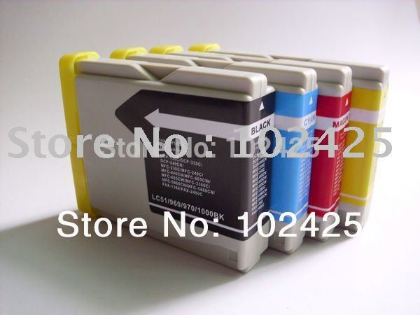 Free Shipping for brother LC39 LC985 compatible cartridge(China (Mainland))