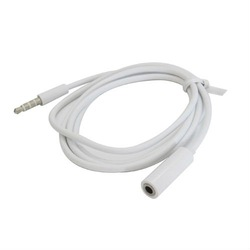 1 Meter 3.5mm Earphone Extension Cable for iPhone,for iPod,for Samsung,HTC,Blackberry.PSP,MP3,MP4- 50 pcs,Free Shipping(China (Mainland))