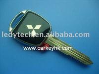 Promotion! Mitsubishi key blank with left blade,car key blank