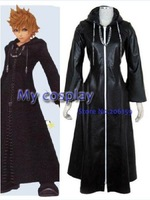 Anime Kingdom Hearts Cosplay - Kingdom Hearts Organization XIII Roxas cosplay costume for Halloween/Cosplay parties Freeshipping