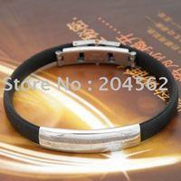 Titanium steel jewelry/round solitary form the bible rodman laser bracelet titanium steel bracelet Free shipping 5pcs/lot