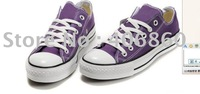 2011--Free shipping 2 pcs/lot   hot selling fashion new style low price Couples canvas shoes