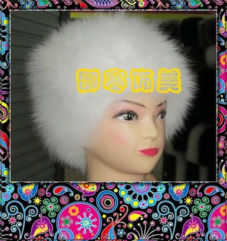 2013 hot-selling Fox Fur Hat and warm winter cap
