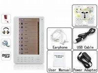 Wholesale 7'' TFT Screen Ebook Reader Digital Player Ebook 4G
