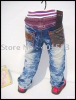 Mixed  Free Shipping Wholesale 10pc/lot children jeans,short pants,shorts baby clothing children's jeans fashion jeans/8609