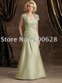 Short Sleeve Jacket Lace Mother Dress Mother Gown 2012