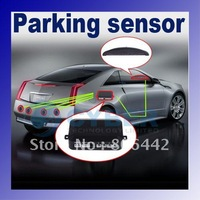 Система помощи при парковке 3pcs/Lot 4 Sensors System 12v LED Display Indicator Parking Car Reverse Radar Kit Black 1459