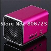 Speaker Box Mini Speaker Micro SD/TF mp3 music player angel speaker10PCS/lot +Free Shipping