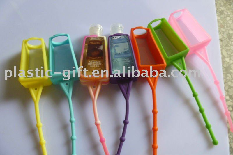 newest fashion silicone hand sanitizer holder(China (Mainland))
