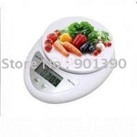 Electric kitchen scale 1 SET 5kg 1g 5kgx1g 5kg-1g 5000g 1g WH-B05 Kitchen Electronic Portable Weight Digital Scale Free shipping